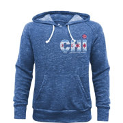 Majestic Threads Men's Chicago Cubs Royal Hoodie