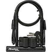 Master Lock Bike U-Lock and Cable