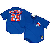Mitchell & Ness Men's Replica Toronto Blue Jays Joe Carter Royal Cooperstown Batting Practice Jersey
