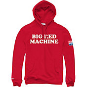 "Mitchell & Ness Men's Cincinnati Reds ""Big Red Machine"" Red Pullover Hoodie"