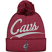 Mitchell & Ness Men's Cleveland Cavaliers Script Burgundy Knit Hat