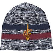 Mitchell & Ness Men's Cleveland Cavaliers Team Stripe Knit Hat