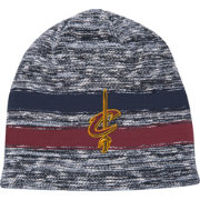 Mitchell & Ness Men's Cleveland Cavaliers Team Stripe Knit Hat