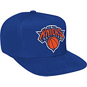 Mitchell & Ness Men's New York Knicks Wool Solid Royal Adjustable Snapback Hat
