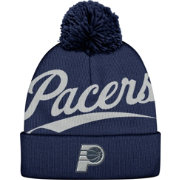 Mitchell & Ness Men's Indiana Pacers Script Navy Knit Hat