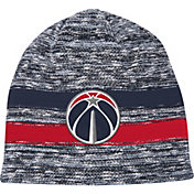 Mitchell & Ness Men's Washington Wizards Team Stripe Knit Hat