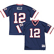 Mitchell & Ness Men's 1990 Home Game Jersey Buffalo Bills Jim Kelly #12