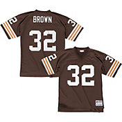 Mitchell & Ness Men's 1963 Home Game Jersey Cleveland Browns Jim Brown #32