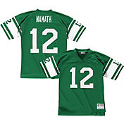 Mitchell & Ness Men's 1968 Home Game Jersey New York Jets Joe Namath #12