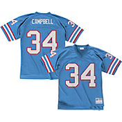 Mitchell & Ness Men's 1980 Home Game Jersey Houston Oilers Earl Campbell #34