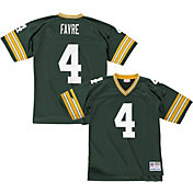 Mitchell & Ness Men's 1996 Home Game Jersey Green Bay Packers Brett Favre #4