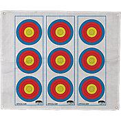 Morrell 3-Spot Vertical Archery Target Face