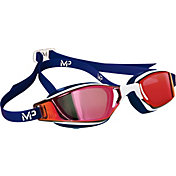 MP Michael Phelps Xceed Red White and Blue Mirrored Swim Goggles