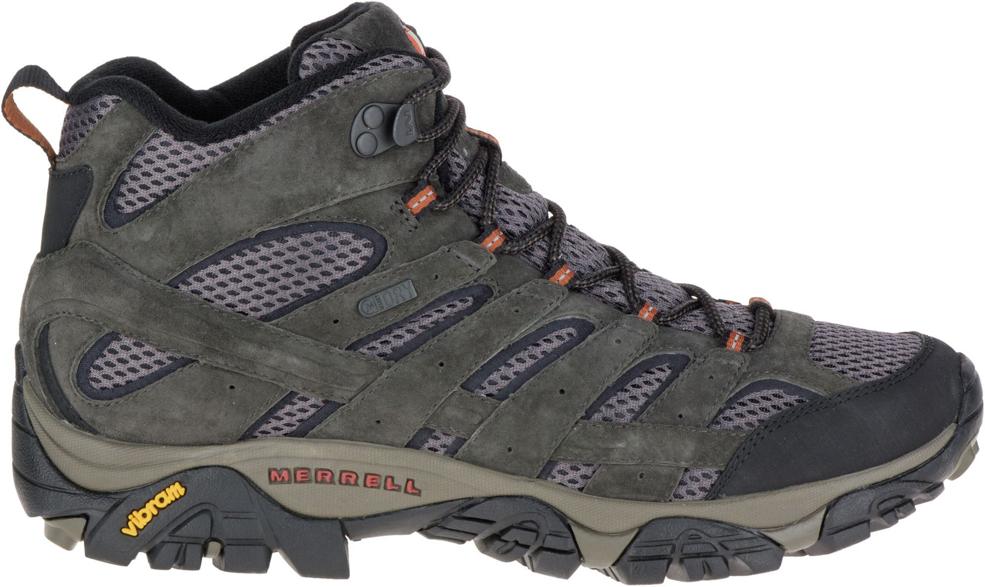 MH100 MID WTP M SHOES - ORANGE | Decathlon