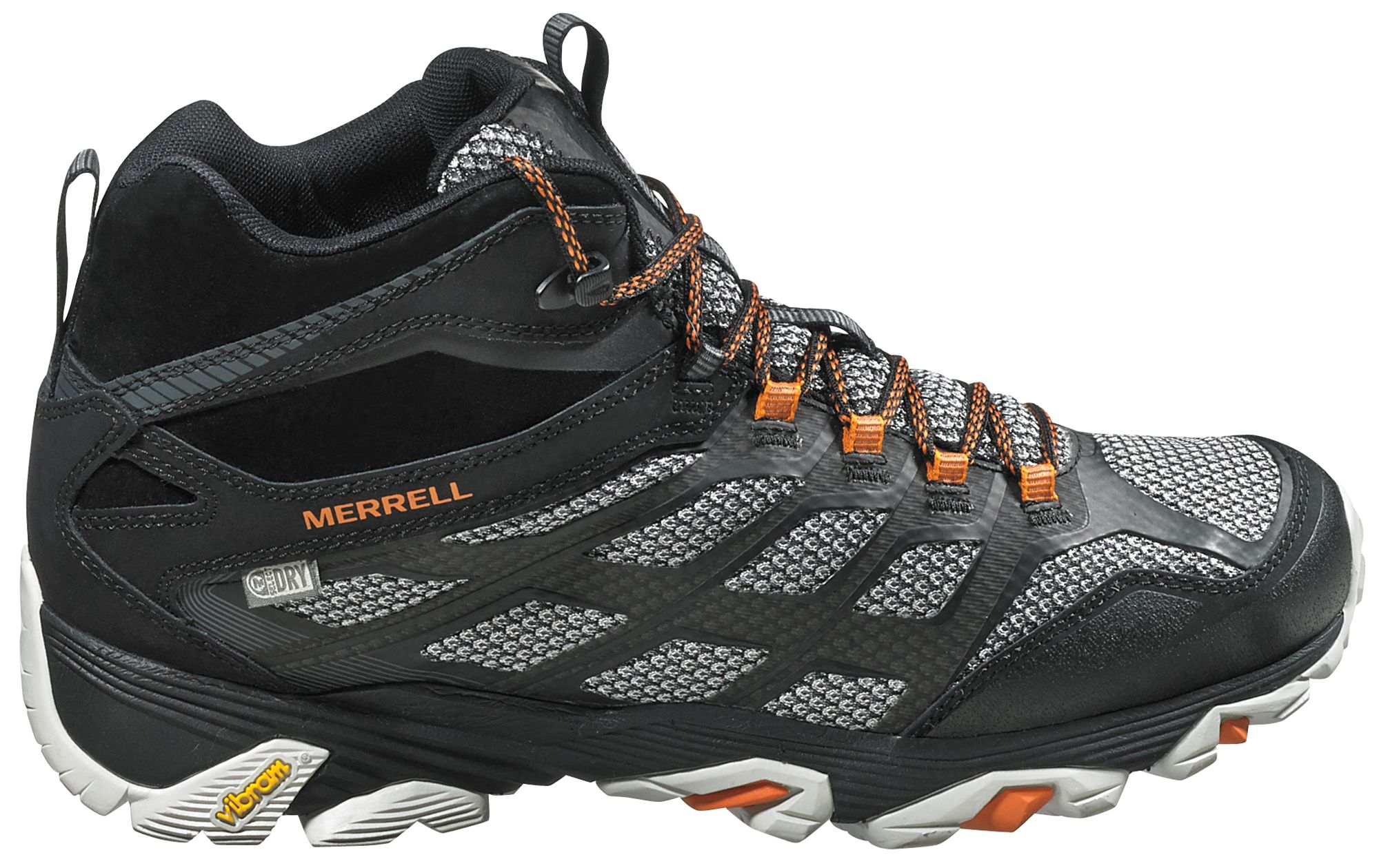 Merrell Men's Moab FST Mid Waterproof Hiking Boots| DICK'S ...