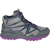 Merrell Women's Capra Bolt Leather Mid Waterproof Hiking Boots