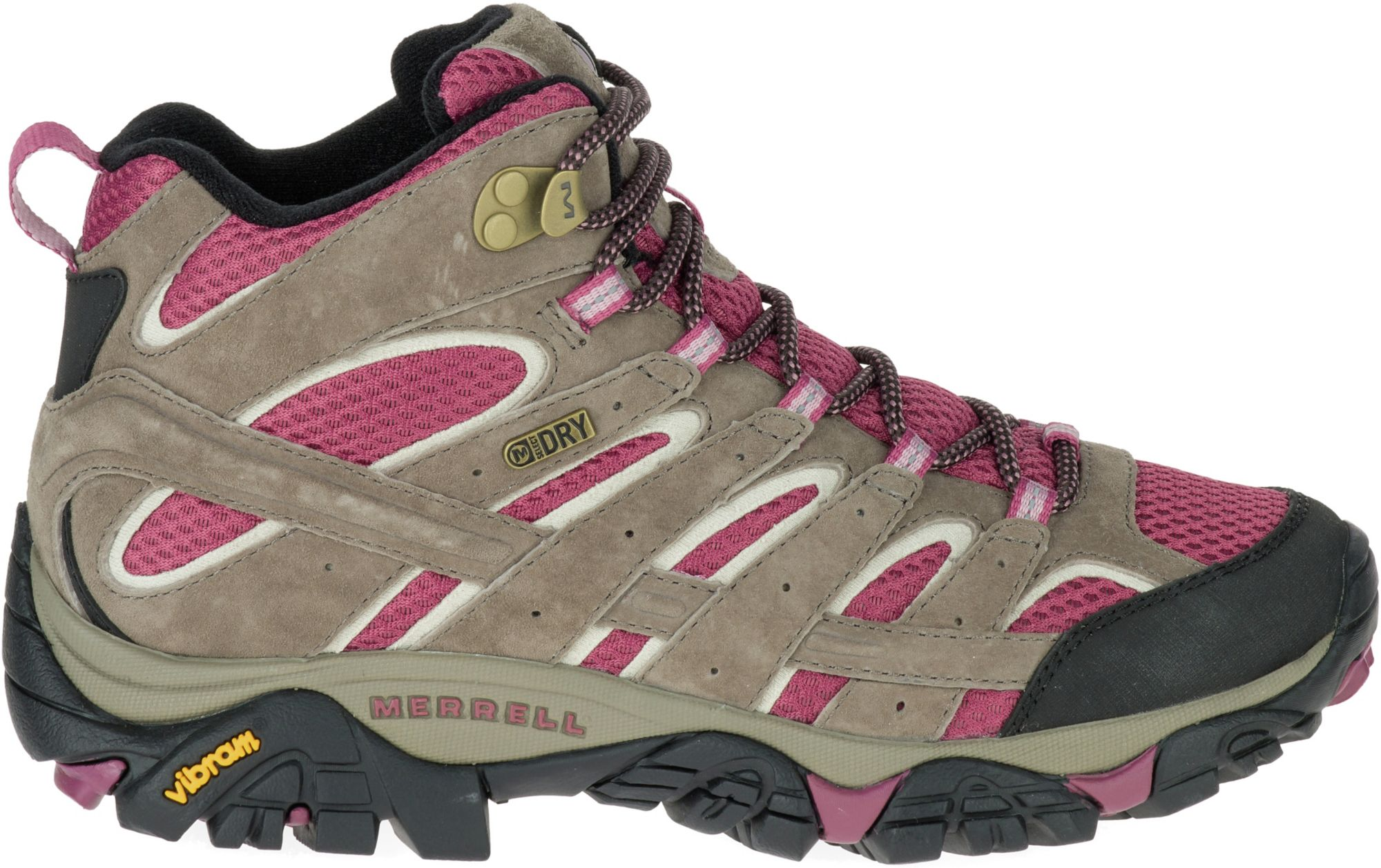 merrell women s moab 2 mid waterproof hiking boots s