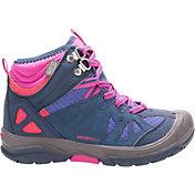 Merrell Kids' Grade School Capra Mid Waterproof Hiking Boots