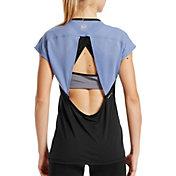 MISSION Women's VaporActive Isobar Open T-Shirt