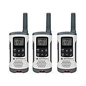 Motorola 25 Mile Talkabout T260 Two-Way Radio Pack – 3 Pack