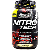 MuscleTech NITRO-TECH Protein Powder Vanilla 2 lbs
