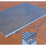 "Nelco 6'6"" x 4' Heavy-Duty Drag Mat"