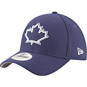 New Era Men's Toronto Blue Jays 39Thirty Diamond Era Navy Flex Hat