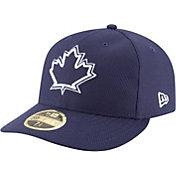 New Era Men's Toronto Blue Jays 59Fifty Diamond Era Alternate Navy Low Crown Authentic Hat