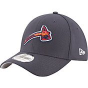 New Era Men's Atlanta Braves 39Thirty Diamond Era Navy Stretch Fit Hat