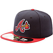 New Era Men's Atlanta Braves 59Fifty Alternate Navy Authentic Hat