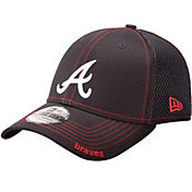 New Era Men's Atlanta Braves 39Thirty Neo Navy Flex Hat
