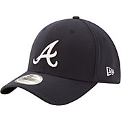 New Era Men's Atlanta Braves 39Thirty Classic Navy Flex Hat