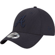 New Era Men's Atlanta Braves 39Thirty Diamond Era Tone Tech Navy Flex Hat
