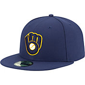 New Era Men's Milwaukee Brewers 59Fifty Alternate 2 Royal Authentic Hat
