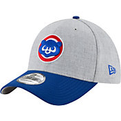 New Era Men's Chicago Cubs 39Thirty Cooperstown Change Up Redux Grey Flex Hat
