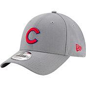 New Era Men's Chicago Cubs 9Forty Grey Adjustable Hat
