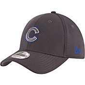 New Era Men's Chicago Cubs 39Thirty Tone Tech Grey Flex Hat