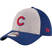 New Era Men's Chicago Cubs 39Thirty Heather Grey Neo Flex Hat