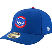 New Era Men's Chicago Cubs 59Fifty Diamond Era Royal Low Crown Fitted Hat