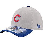 New Era Men's Chicago Cubs 39Thirty Diamond Era Grey Flex Hat