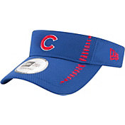 New Era Men's Chicago Cubs Royal Adjustable Speed Visor