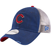 New Era Men's Chicago Cubs 9Twenty Rustic Royal Adjustable Hat