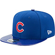 New Era Men's Chicago Cubs 9Fifty Solid Shine Royal Adjustable Hat