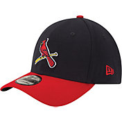 New Era Men's St. Louis Cardinals 39Thirty Alternate Classic Navy Stretch Fit Hat