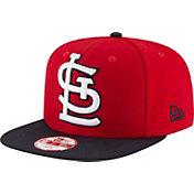 New Era Men's St. Louis Cardinals 9Fifty Grand Logo Adjustable Hat