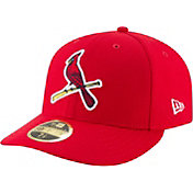 New Era Men's St. Louis Cardinals 59Fifty Diamond Era Red Low Crown Fitted Hat