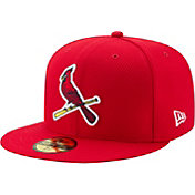New Era Men's St. Louis Cardinals 59Fifty Diamond Era Red Fitted Hat