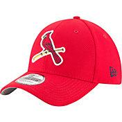 New Era Men's St. Louis Cardinals 39Thirty Diamond Era Red Flex Hat