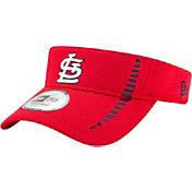 New Era Men's St. Louis Cardinals Red Adjustable Speed Visor
