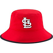 New Era Men's St. Louis Cardinals Red Team Bucket Hat